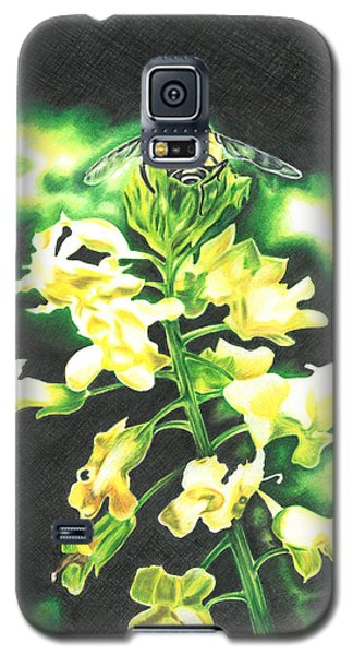 Wild Flower Galaxy S5 Case by Troy Levesque