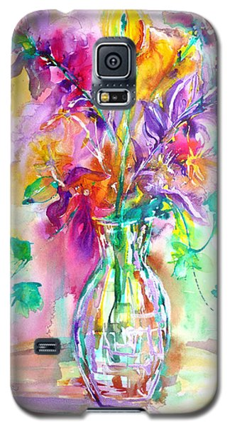 Wild Flowers Galaxy S5 Case