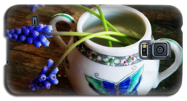 Wild Flowers In Sugar Bowl Galaxy S5 Case by Lainie Wrightson