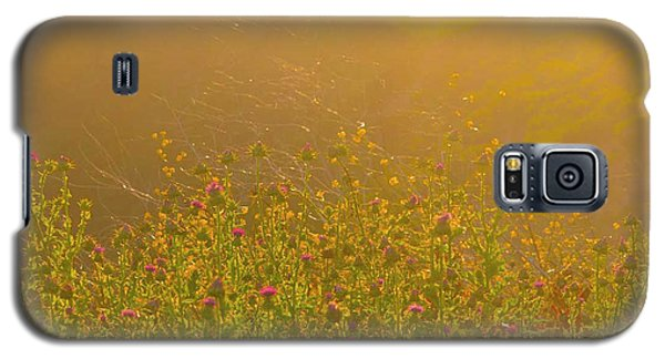 Wild Flowers With Webs Galaxy S5 Case
