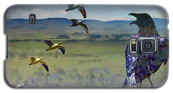 Wild Geese Galaxy S5 Case by Ursula Freer