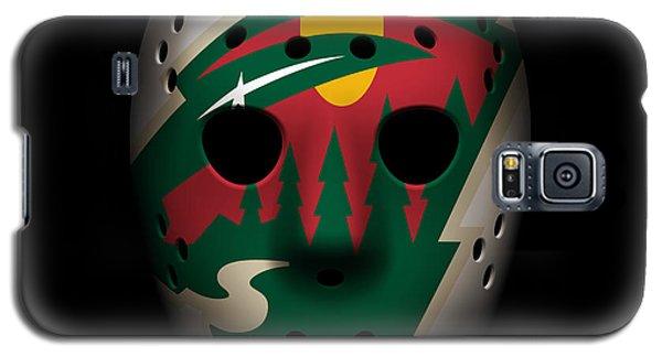 Wild Goalie Mask Galaxy S5 Case by Joe Hamilton