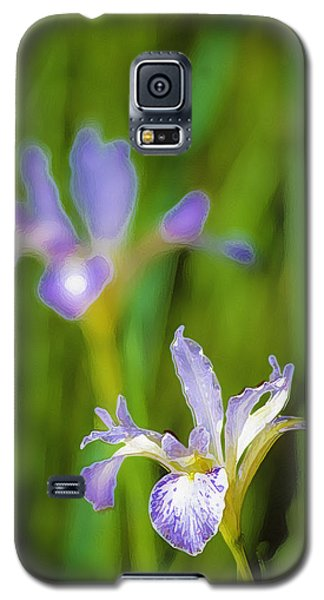 Galaxy S5 Case featuring the photograph Wild Iris 2 by Sherri Meyer
