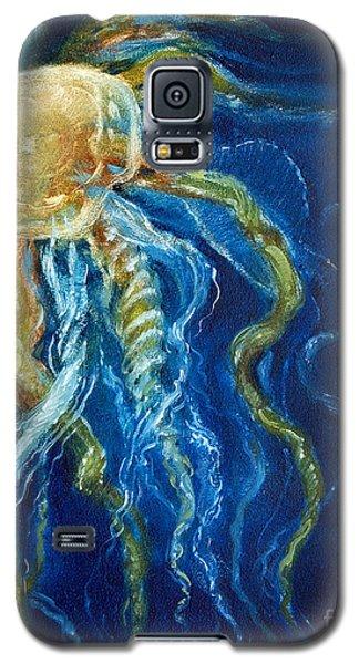 Wild Jellyfish Reflection Galaxy S5 Case