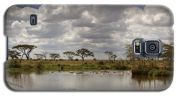 Galaxy S5 Case featuring the photograph Wild Pond by Joseph G Holland