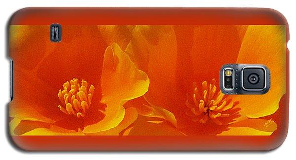 Wild Poppies Galaxy S5 Case by Ben and Raisa Gertsberg