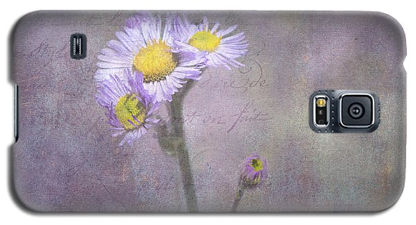 Wild Purple Aster  Galaxy S5 Case