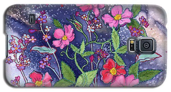 Wild Roses Galaxy S5 Case by Teresa Ascone