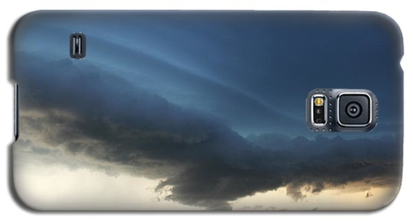 Galaxy S5 Case featuring the photograph Wild Shelf Cloud by Ryan Crouse