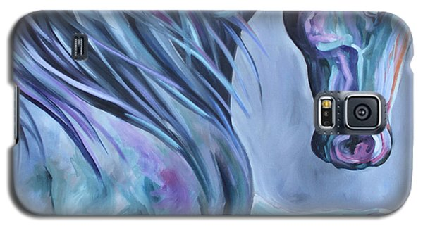 Wild Stallion Abstract Galaxy S5 Case