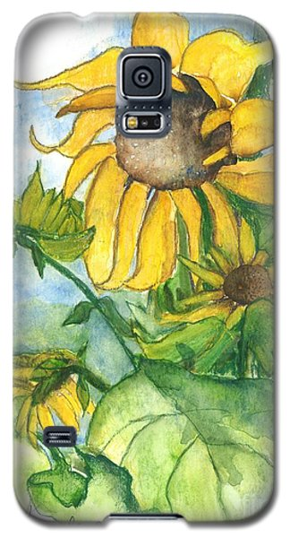 Wild Sunflowers Galaxy S5 Case