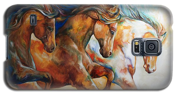 Wild Trio Run Galaxy S5 Case