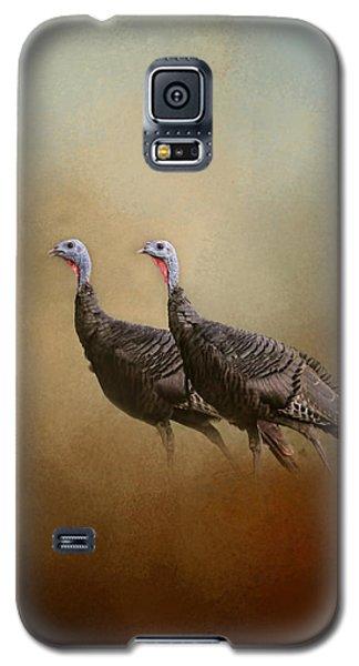 Wild Turkey At Shiloh Galaxy S5 Case by Jai Johnson