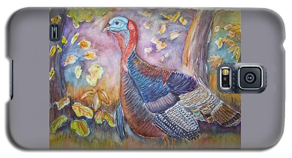 Wild Turkey In The Brush Galaxy S5 Case