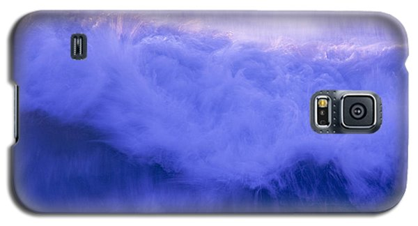 Galaxy S5 Case featuring the photograph Wild Waves by Serene Maisey