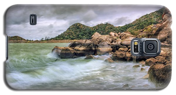 Wild Weather On Lake Altus - Oklahoma - Quartz Mountains Galaxy S5 Case