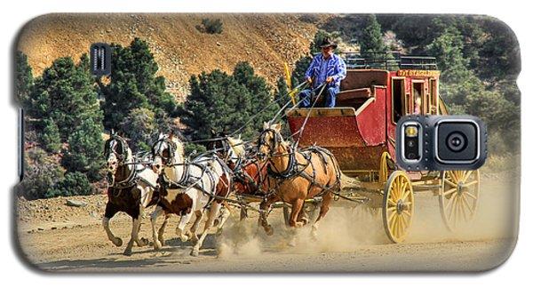 Wild West Ride 2 Galaxy S5 Case by Donna Kennedy