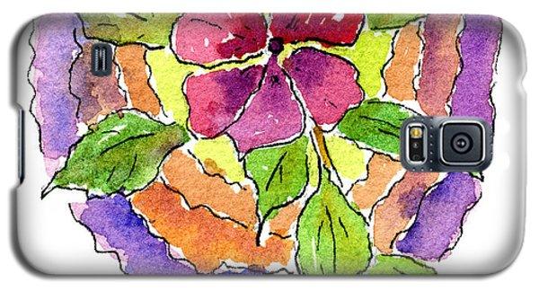 Wild Wildflower Galaxy S5 Case