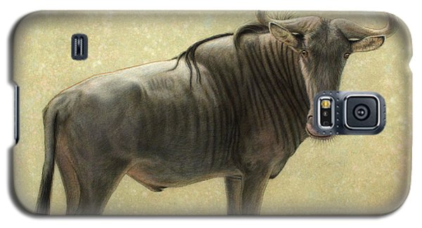 Bull Galaxy S5 Case - Wildebeest by James W Johnson