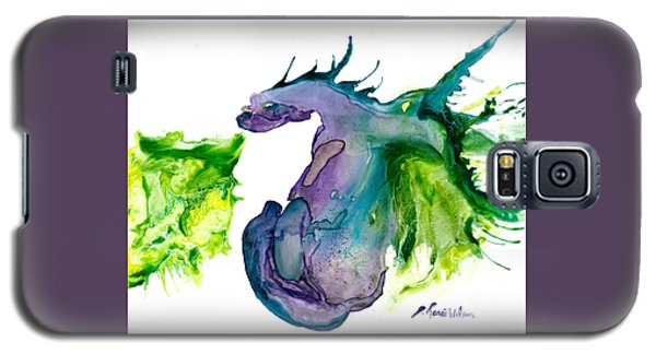 Wildfire And Water Dragon Galaxy S5 Case
