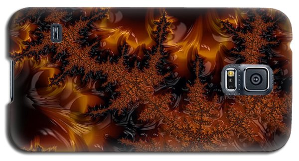 Galaxy S5 Case featuring the digital art Wildfire by Owlspook