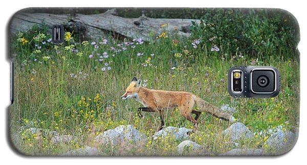 Wildflower Fox Galaxy S5 Case