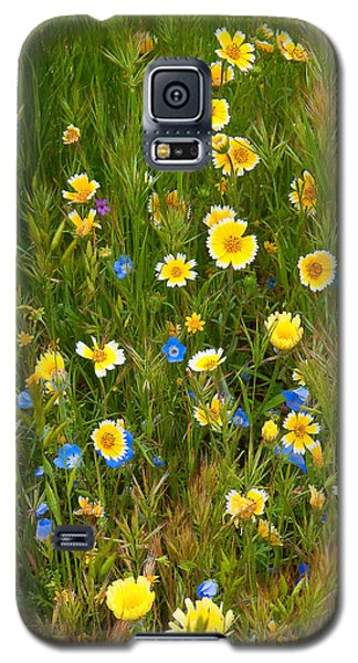 Wildflower Salad - Spring In Central California Galaxy S5 Case