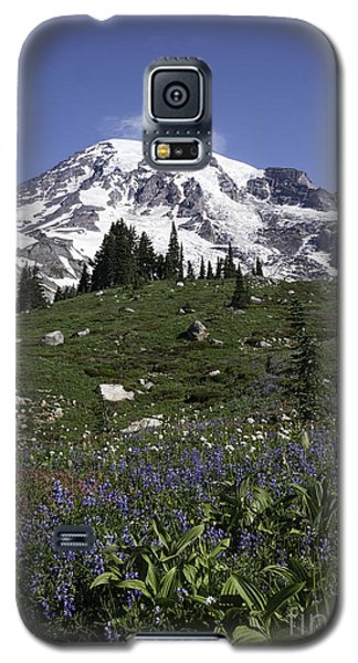 Wildflower Season At Mt Rainier Galaxy S5 Case