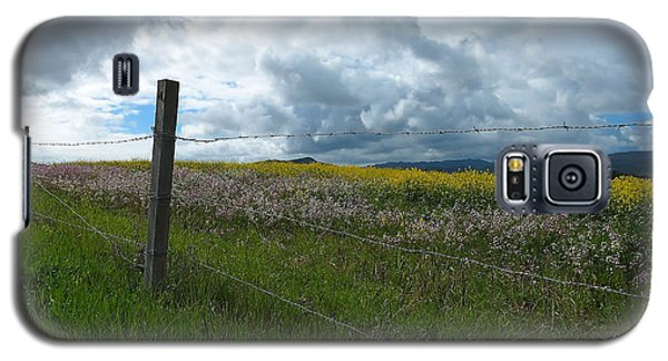 Wildflower Showers Galaxy S5 Case by Paul Foutz