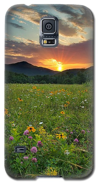 Wildflower Sunset Galaxy S5 Case