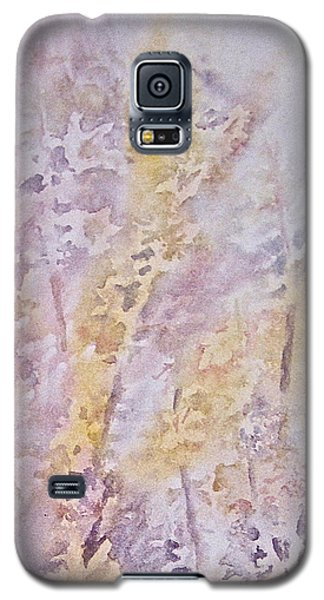 Galaxy S5 Case featuring the painting Wildflowers by Carolyn Rosenberger
