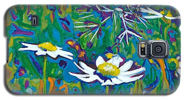Galaxy S5 Case featuring the painting Wildflowers by Denise Deiloh