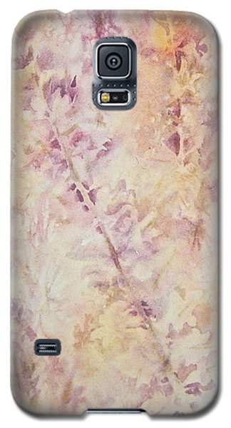 Galaxy S5 Case featuring the painting Wildflowers Three by Carolyn Rosenberger