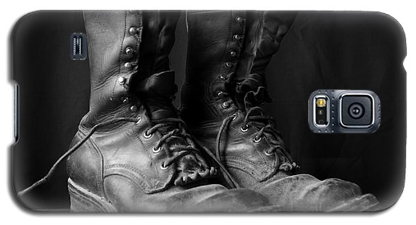 Galaxy S5 Case featuring the photograph Wildland Fire Boots Still Life by Kerri Mortenson