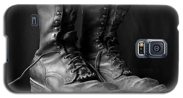 Wildland Fire Boots Still Life Galaxy S5 Case