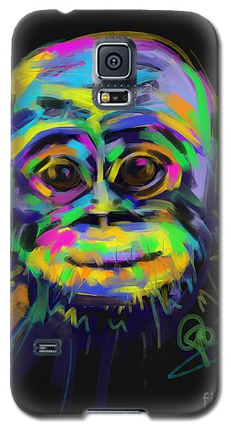 Wildlife Baby Chimp Galaxy S5 Case