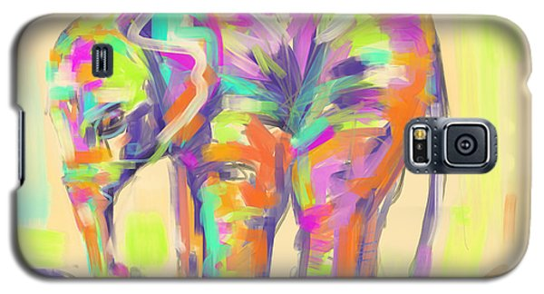Wildlife Baby Elephant Galaxy S5 Case by Go Van Kampen