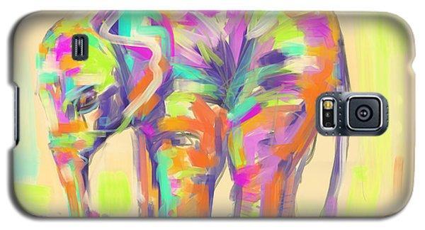 Wildlife Baby Elephant Galaxy S5 Case