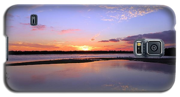 Wildlife Drive Sunset Galaxy S5 Case