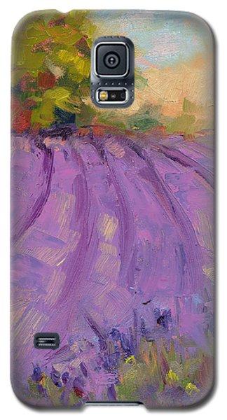 Wildrain Lavender Farm Galaxy S5 Case