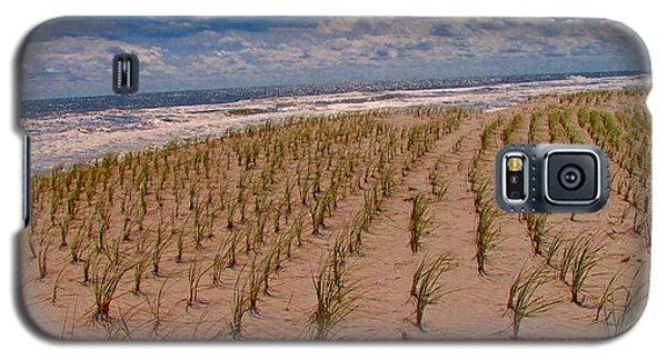 Wildwood Beach Breezes  Galaxy S5 Case by David Dehner