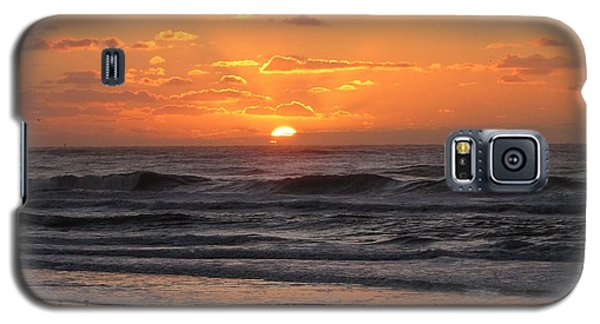 Wildwood Beach Here Comes The Sun Galaxy S5 Case by David Dehner