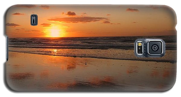 Wildwood Beach Sunrise Galaxy S5 Case by David Dehner