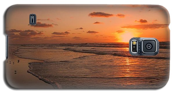 Wildwood Beach Sunrise II Galaxy S5 Case by David Dehner