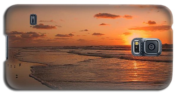 Wildwood Beach Sunrise II Galaxy S5 Case