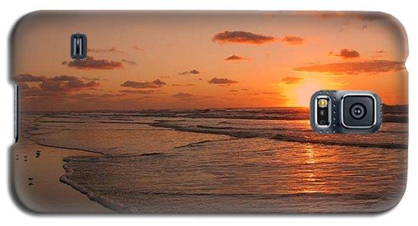 Wildwood Beach Sunrise II Galaxy S5 Case by David Dehner