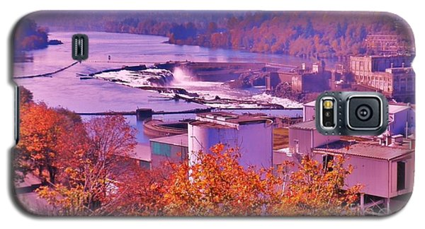 Galaxy S5 Case featuring the photograph Willamette Falls Oregon by Suzanne McKay