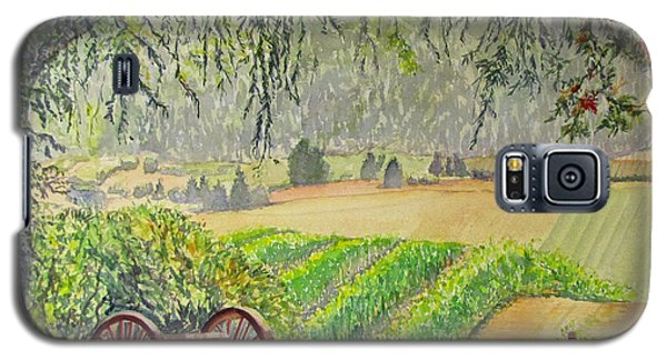 Willamette Valley Winery Galaxy S5 Case by Carol Flagg