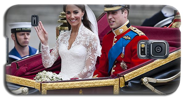 William And Kate Royal Wedding Galaxy S5 Case
