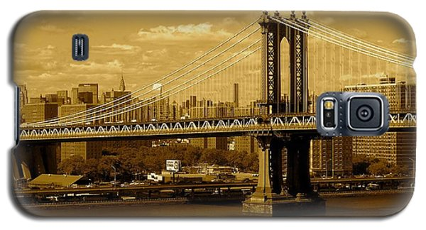 Williamsburg Bridge New York City Galaxy S5 Case